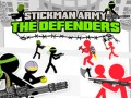 Hry Stickman Army: The Defenders